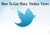 deliver 1500 twitter Views