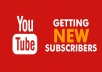 give you 100 real Youtube subscribers