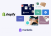 create and launch your shopify dropshipping store