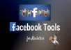 send you facebook marketing tools