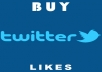 Provide 400 Twitter LIkes (Real Active User Guaranteed)