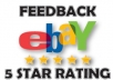 provide lot of USA ebay feedback from different buyers