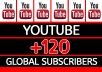 Give You 200+ YouTube Subscribers on your channel