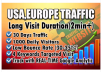 Bring Real Organic USA Web Traffic,Long Visit 2 Min