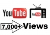 Give Real HQ 7,000+ YouTube Video Views