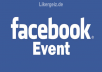 Add 400+ Facebook Events Interested