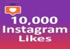 Give Fast 10,000+ Instagram Likes Real High Quality & Non Drop Guarantee