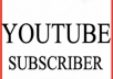 Provide You 600+ YouTube Subscribers Real non-drop & Lifetime Guaranteed!