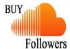 provide you 2000+ SoundCloud USA Followers