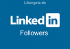 provide you 400+ Linkedin Followers