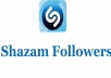 i Will Provide you 1200 Shazam Followers