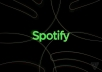 Hello dear sir, I'm exclusive expert on Spotify Service , I have more experienced increase Spotify Plays ,Spotify Followers. I'm more order completed others market place, so if you want to get 