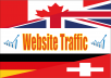 PROVIDE YOU BEST QUALITY 170,000+ WEBSITE TRAFFIC 