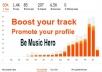 provide 30,000 High retention play/s to your track