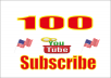 Give You 100 USA youtube SUBSCRIBE