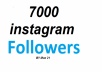 We offer following in this 5000 HQ instagram follower package.