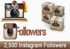 add 2500 Real Instagram Followers Instant Start and High Quality
