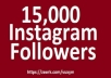provide you 5000 instagram followers real active permanent