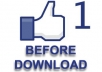turn your Facebook Like Button into a social media traffic blasting download button