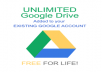 • Lifetime Activation No Monthly Fee☑️  • Buisness Class Security☑️  • Unlimited Storage ☑️  • Use Your Own Gmail To Activate☑️  • Completely separate storage, does not affect existing google drive storage☑️  • Can Choose Personal G Drive,Team Drive ☑️  • Can Share The File With Your Friends☑️  OUR COMMITMENT All Genuine Product License ✅  Fast Responsible Time ✅  Free Teamviewer Installation Support✅  Best Price In Market ✅  PLEASE SEND YOUR GOOGLE EMAIL IN THE DETAIL OF PAYMENT PLEASE READ THE DESCRIPTION CAREFULLY NO MONTHLY PAYMENT OR ANNUAL PAYMENT NO TAX, SINGLE PAYMENT !!  All Unlimited Storage, One time payment with No Monthly Fee   All Product Privacy Is Secured Protected  Kindly write your Gmail address after payment or write it on the order remark.  Feel free to ask if you need more information regarding Team Drive.
