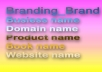 develop a brand name for your business