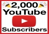 Give You Real Guaranteed 800+ YouTube Subscribers on your channel