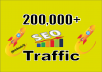 I will send you Fast 200.000 real worldwide website traffic visitors from all Countries 