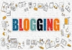 Create High-Quality Web Contents and Blogs which are SEO Optimized