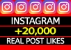 provide +30,000 Instagram Post or Video Likes
