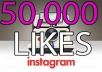 Provide you 50,000 Instagram LIKES extra fast delivery