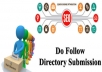 do 600 High PR web directories submissions to your site and free real indian web traffic.