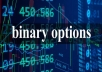 Are you interested in binary trading,invest with a trusted account manager and get a better return in 7 days,I can help you manage your account. 