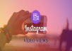 Deliver 10,000+ Instagram Video Views