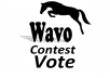 Get you 40 wavo votes for your WAVO. ME Contest