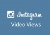 I will provide 5000+ Instagram Video Views.