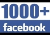 Add 1000+ Real FACEBOOK Likes for $40
