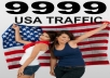 Real Human  USA  website Traffic :  9999+ USA  