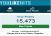 Give You 10,000 Youlikehits points in 1 Account