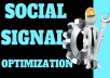 Great Top 5 Powerful Platform 1200+ PR9 SEO Social Signals Share Bookmarks Important Google Ranking Factors