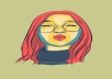 turn a portrait of your choice into vector art