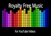 This gig offers you a collection of 2986 Royalty Free music tracks, mp3 format listed as Creative Commons 0 for YouTube. This means you can use the music for any of your projects, personal or commercial, for you or for your clients.