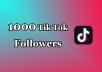 Tik Tok followers are very powerful way for increasing brand attention,  You will get over 1000+ Tik Tok followers!  Get 1000+ Tik Tok Followers:  Service Details :  ⭐100% Satisfaction Guaranteed!  ⭐Get you QUALITY SERVICE  ⭐All accounts are very good and unique  ⭐100% safe for accounts  ⭐No drop chances  ⭐No need admin access  ⭐Guaranteed service  ⭐High-quality Tik Tok likes  ⭐Real   ⭐0-6 Hour Start!   ⭐Organic and real Tik Tok likes  ⭐100% satisfaction guaranteed  ⭐Fast delivery  This service will help you get more followers and likes in the future, you will look much better in eyes of others and you can enjoy better visibility and exposure via search engines.  If you have any questions - ✔just contact me✔