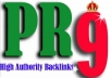 I will created 15 Pr9 Domains With High Trust And Domain Authority Backlinks  You'll get :  15 Pr9 Domains With High Trust And Domain Authority Backlinks  With these awesome benefits:  All back-links are permanent and index. view-able with anchor text . High PR and AUTHORITY domains. 100% Google safe back-links Natural looking backlinks with High PR and 100 % Dofollow Help your site to boost their traffic as well as reputation Awesome customer support. 15+ Back-links & Detailed report with login data