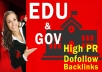 Provide USA BASED. EDU-. GOV Authority Backlinks