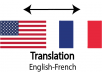 translate any english text into french and french text into english