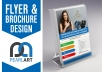 Be The Creative Designer For The Flyer Or Brochure