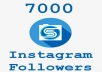 ★★★REAL INSTAGRAM FOLLOWERS★★★ i will give you real and active 7000 Instagram followers will give you more than 7000followers for drops and followers from over the world i will add followers less than 3 days normal less than 24 h we need your account link only . 