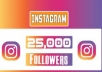 give you 20k Instagram followers With 30 days refill