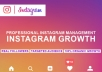 manage your Instagram for a Week and get you 50,000 of followers