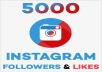 Add Pack 5,000+ Instagram Followers with 1000+ Instagram Likes and Views - Real and Non Drop
